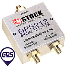 GPS Signal Splitter, 2 Way, SMA