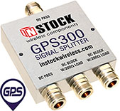 GPS300 - 3 Way, Type N, GPS / GNSS Signal Splitter