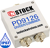 150 W IP67 Outdoor Power Combiner, 2Way SMA
