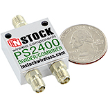 PS2400, RoHS RF Divider Combiner, Two Way SMA